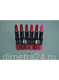 Помада+блеск travel collection MAC 2 Perfect