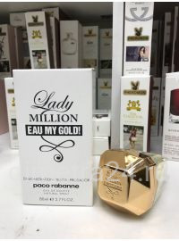Тестер парфюмерии Paco Rabanne Lady Million eau My Gold 80 ml. pour Femme.
