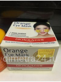 Патчи Bioaqua  Orange Eye Mask with Extracts of Green Tea