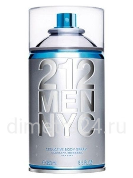 Парфюм 212 Men NYC Body Spray Carolina Herrera для мужчин