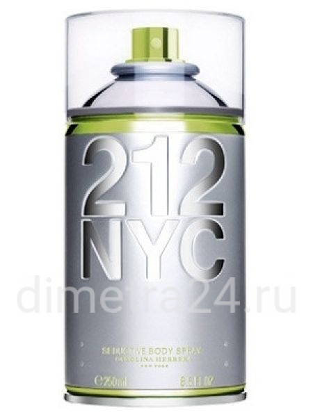 Парфюм 212 NYC Body Spray Carolina Herrera для женщин