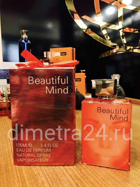 Beautiful Mind Арабская Парфюмерия Fragrance World (Молекула Игры Разума)