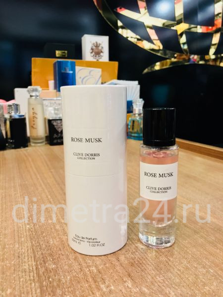 Clive Dorris Rose Musk pour Femme  30 ml.  Аромат Montale Rose Musk.