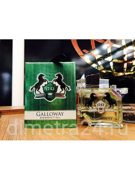 Fragrance World Galloway Essentiale for Man 100 ml.Аромат Lacoste Essential  pour Homme.