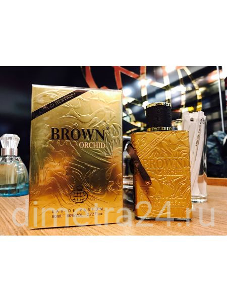 Fragrance World Brown Orchid Gold Edition pour Femme 100ml. Аромат Calvin Tom Ford pour femme