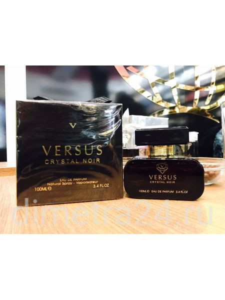 Fragrance World Versus Crystal Noir 100ml. Аромат Versace Crystal Noir
