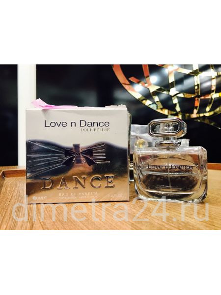 Fragrance World Love n Dance for Women 100ml. Аромат Nina Ricci Love in Paris