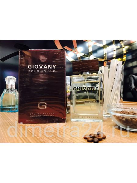 Fragrance World Giovany pour Homme 100ml. Аромат Givenchy Pour Homme