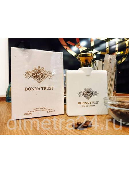 Fragrance World Donna Trust 100ml. Аромат Trussardi Donna pour Femme