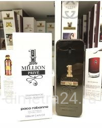 Тестер парфюмерии Paco Rabanne 1 million Prive 100 ml. pour Homme.