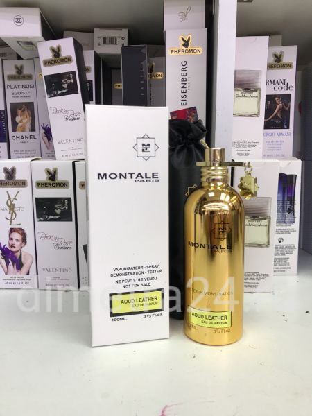 Montale Aoud Leather 100 ml. tester. Унисекс.