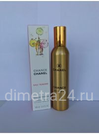 Парфюм New 100ml Chanel Chance eau Tendre Алюминий